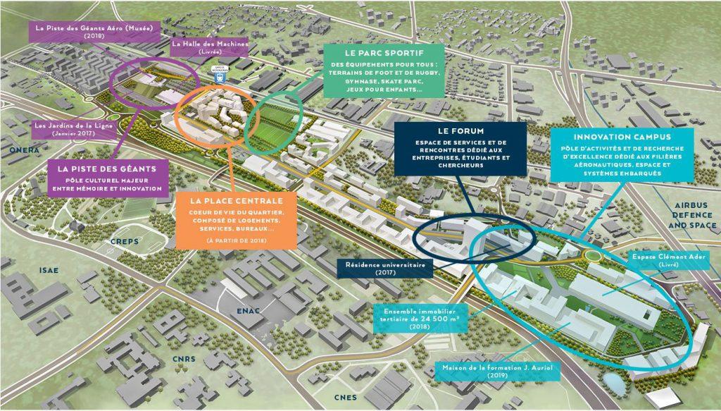 Toulouse Aerospace_implantation immobilier entreprise